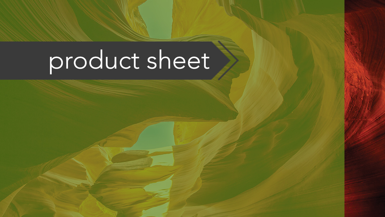 product sheet button