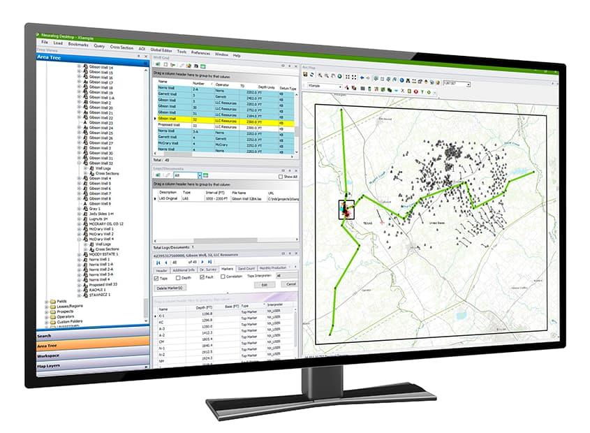 screenshot neuralog desktop